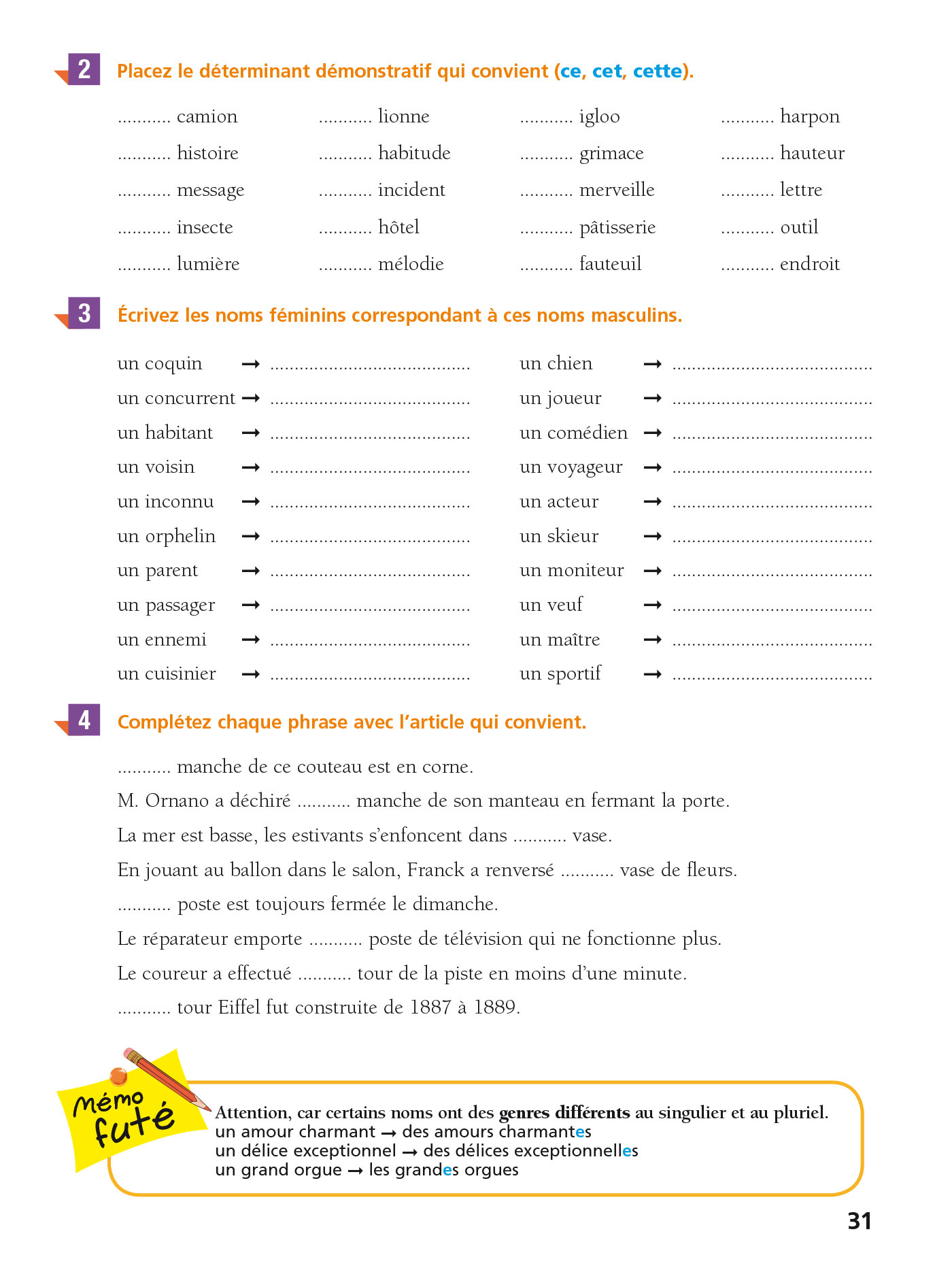 Cahier Bled Exercices D Orthographe 6e Hachette Education Famille Eleves Etudiants