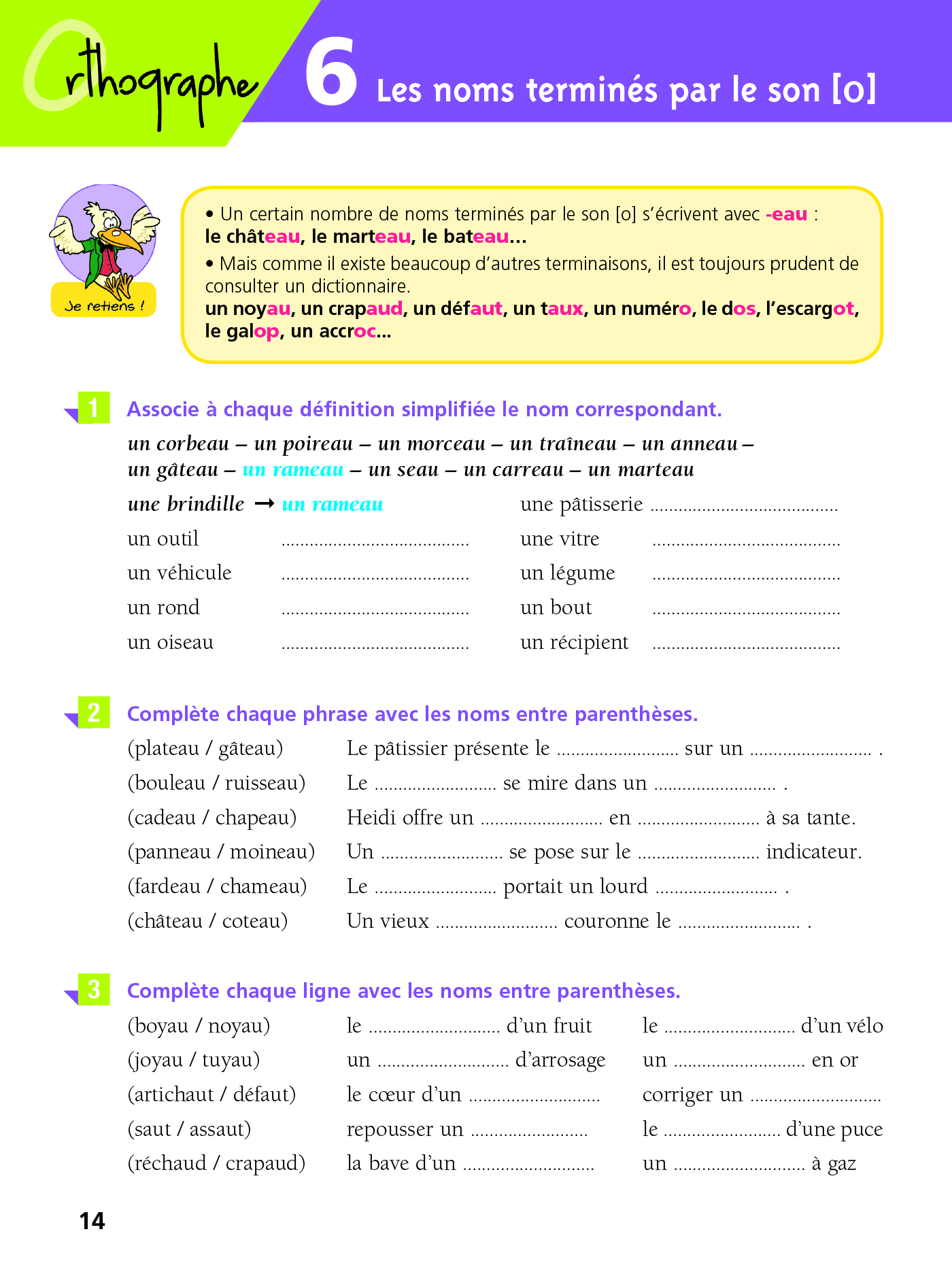 Cahier Bled - Exercices D'Orthographe Ce2 | Hachette ...
