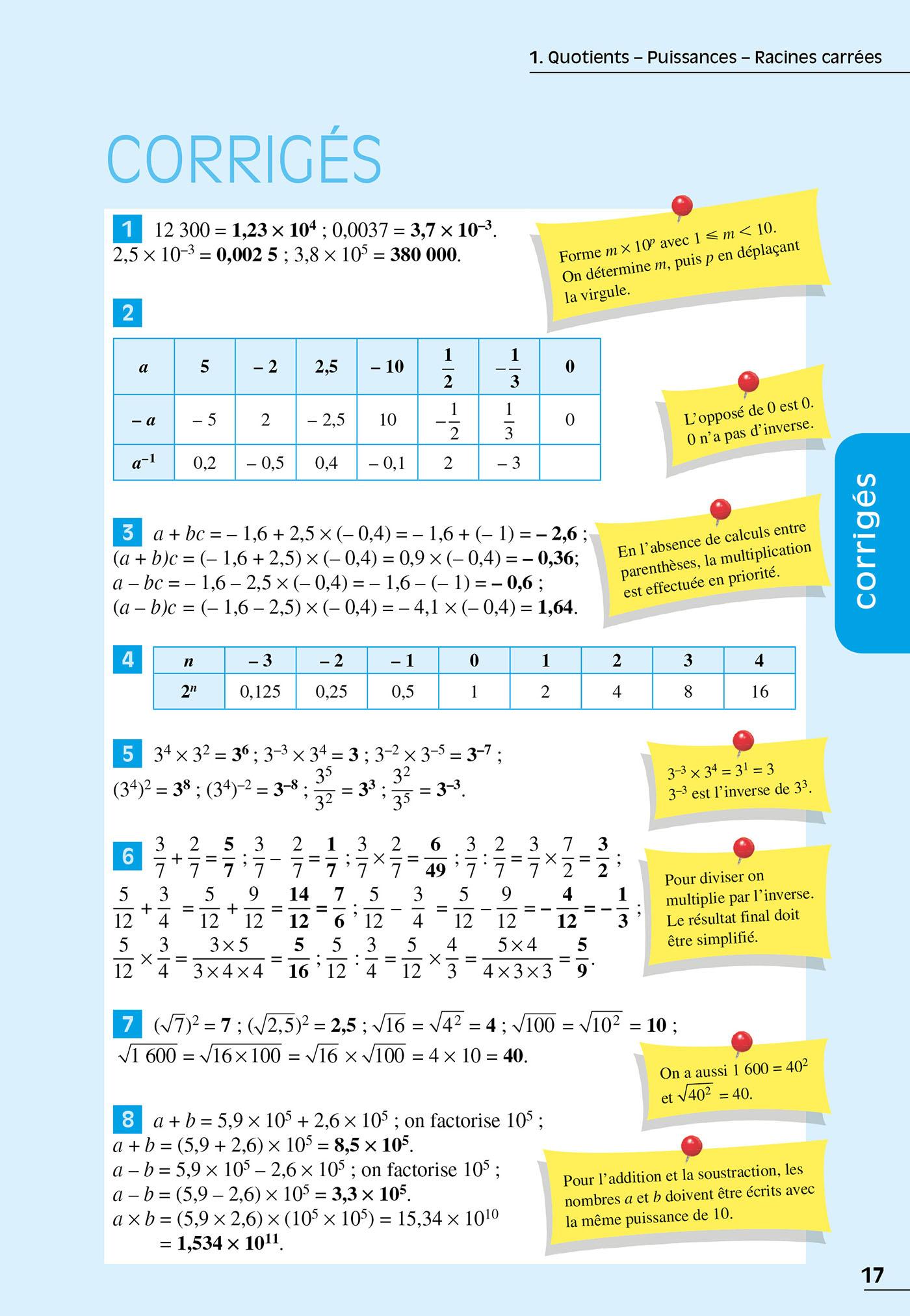 Exos Resolus Maths 3e Hachette Education Famille Eleves Etudiants