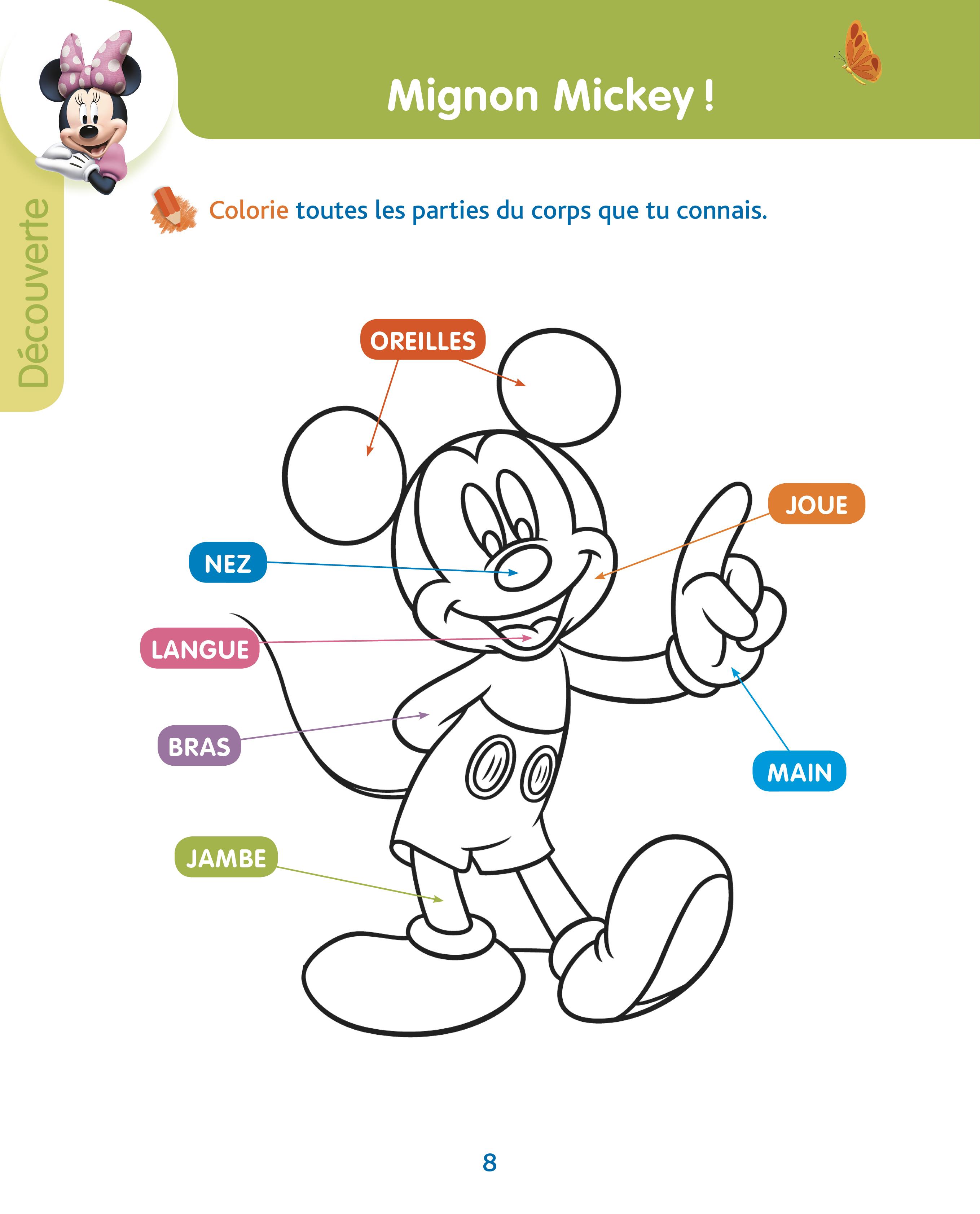 Mickey Mon Annee De Toute Petite Section 2 3 Ans Hachette Education Famille Eleves Etudiants