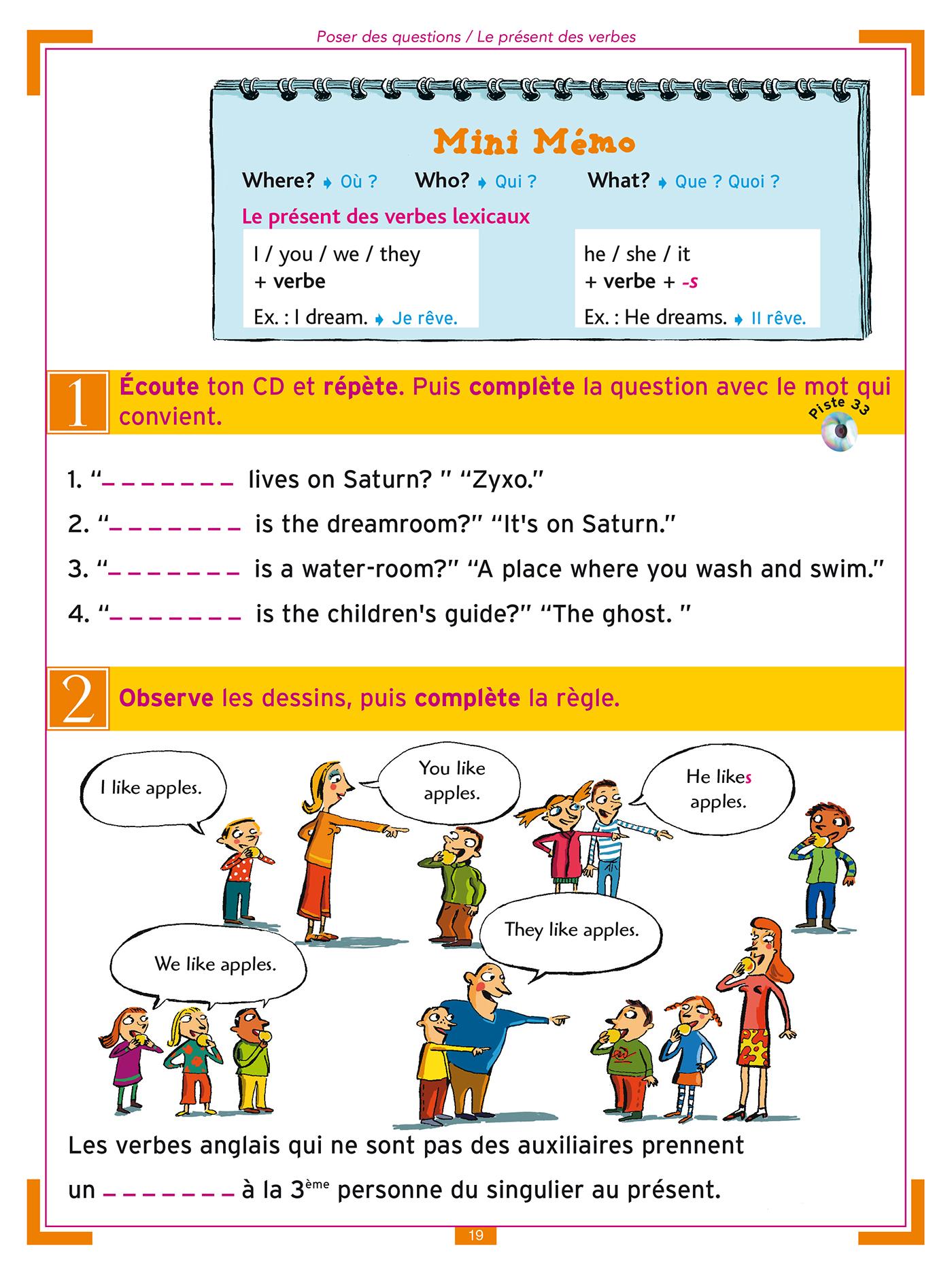 J'apprends l'anglais avec Tommy et Julie - CM1 et CM2   Hachette Education - Famille, élèves ...