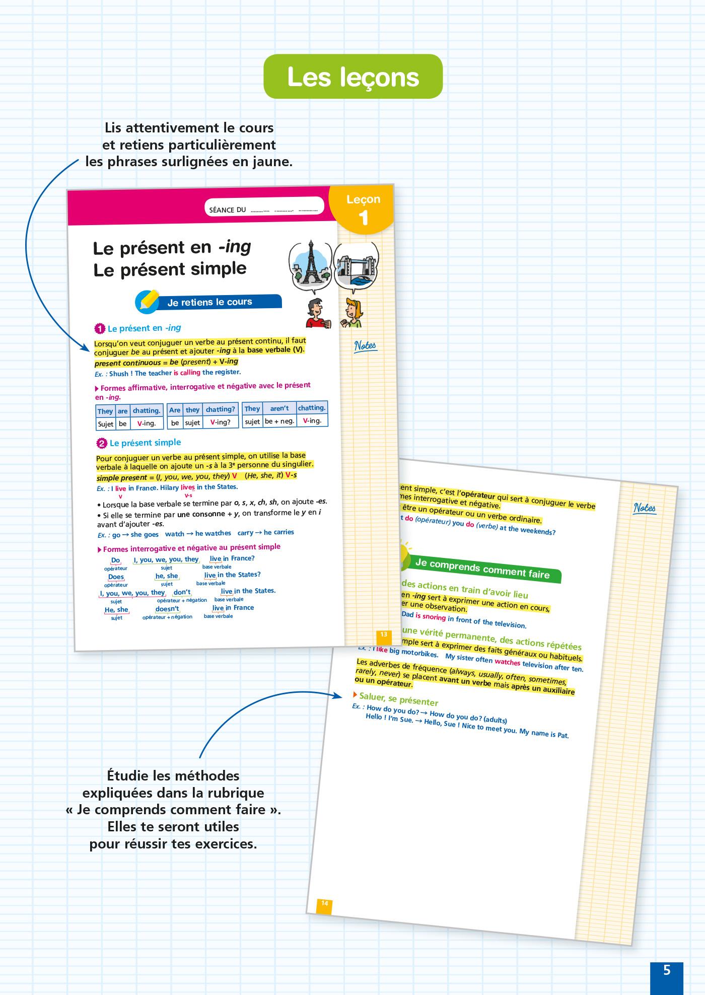 Reussir Au College Anglais 4e Hachette Education Famille Eleves Etudiants