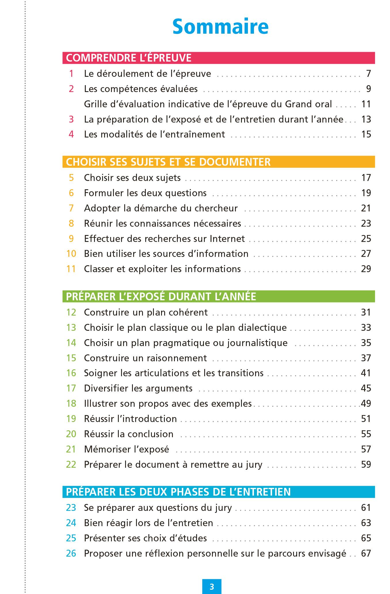 Objectif BAC - Fiches Grand oral du Bac   Hachette ...
