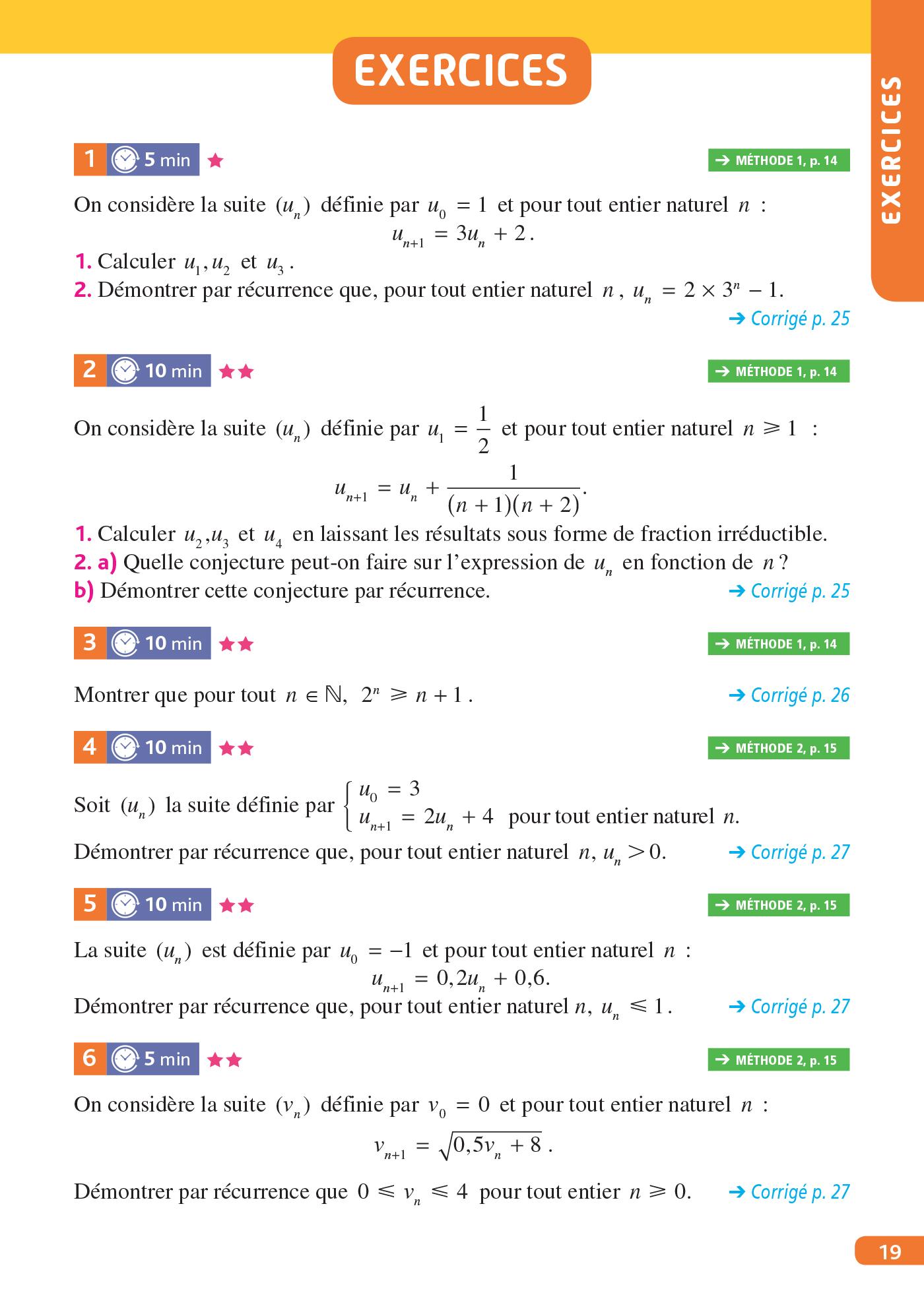 Objectif Bac - Spécialité Maths Term   Hachette Education ...