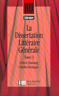 La dissertation littéraire générale 3. Les Grands Genres littéraires