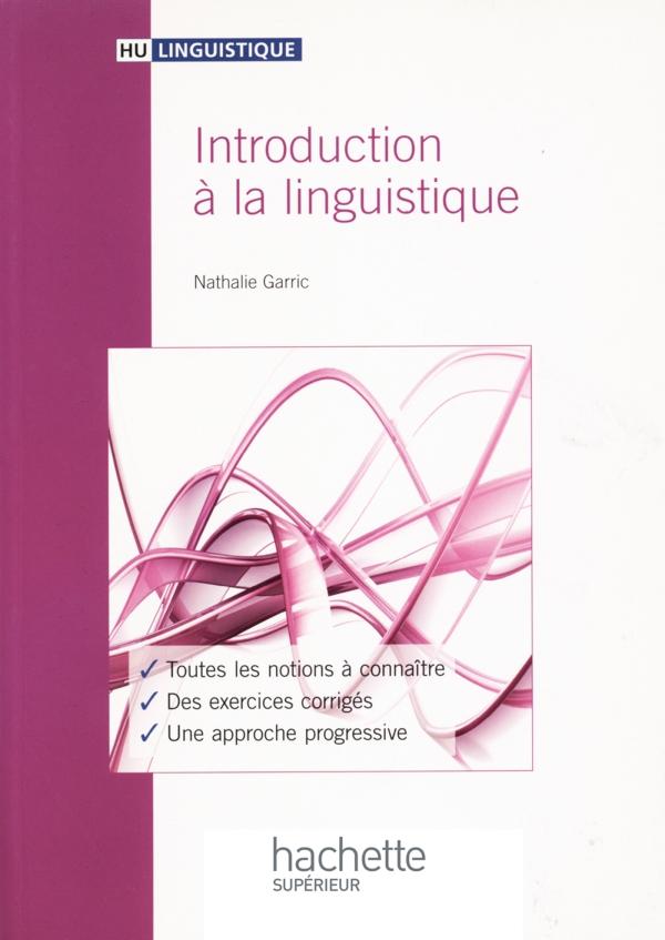 Introduction à la linguistique