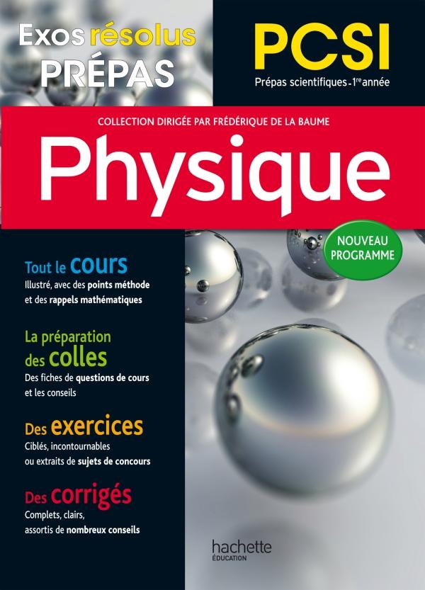 Exos Résolus - Prépas Physique PCSI