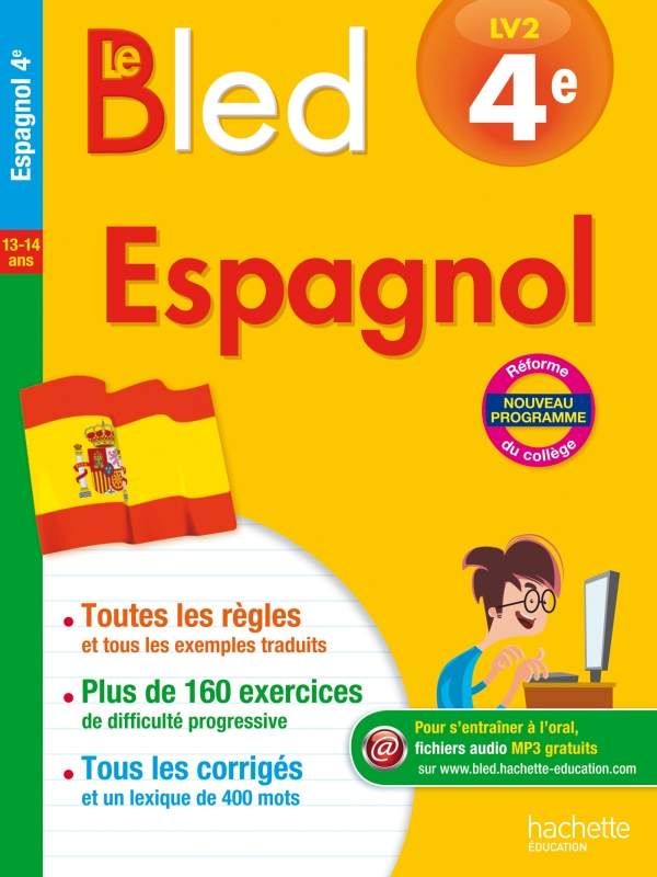 Cahier Bled - Espagnol 4E