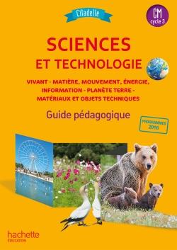 Citadelle Sciences CM - Guide pédagogique - Ed. 2018