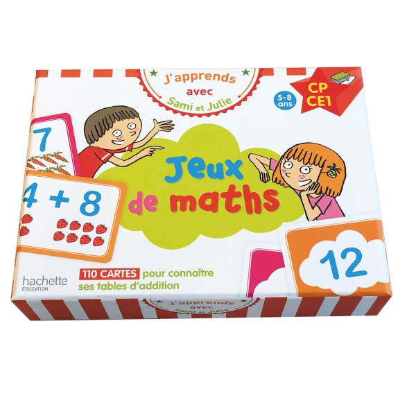 J'apprends avec Sami et Julie : Jeux de maths
