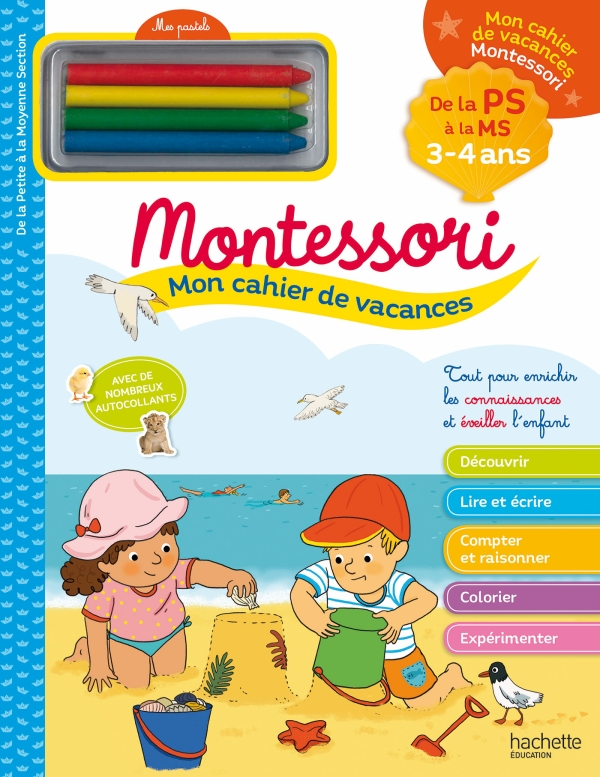 Mon cahier de vacances Montessori 2020 - 3/4 ans