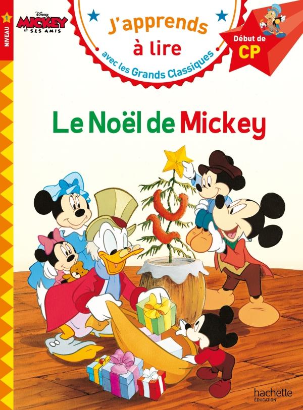 Le Noël de Mickey CP Niveau 1