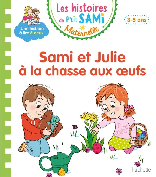 Sami et Julie à la chasse aux oeufs