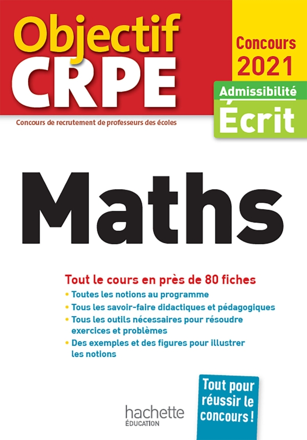 Objectif CRPE en fiches Maths 2021