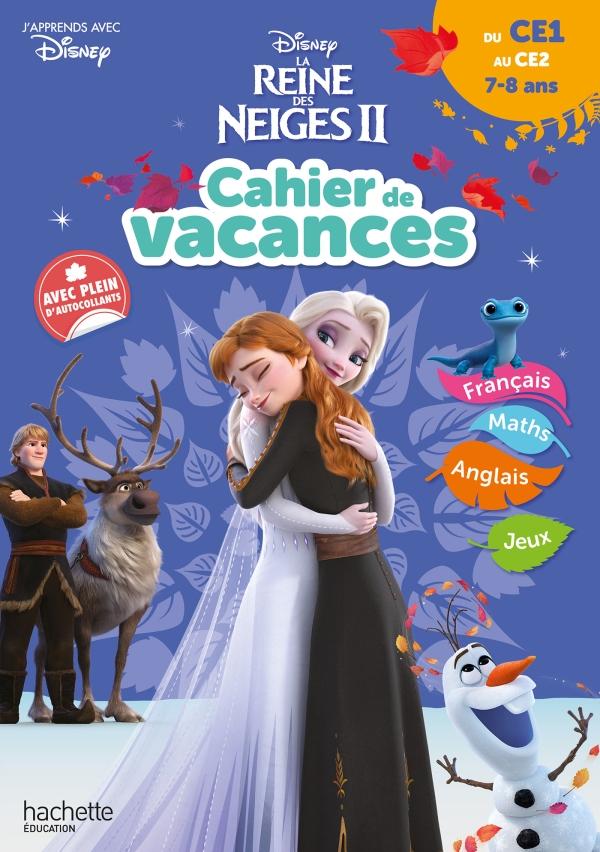Disney - Reine des Neiges - Cahier de Vacances, du CE1 au CE2