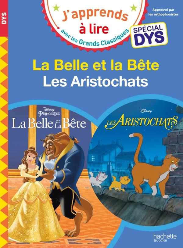 Disney - La Belle et la bête / Les Aristochats Spécial DYS (dyslexie)