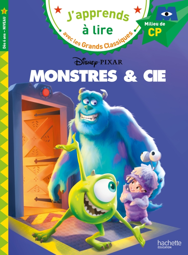 Disney - Monstres et Cie - CP niveau 2