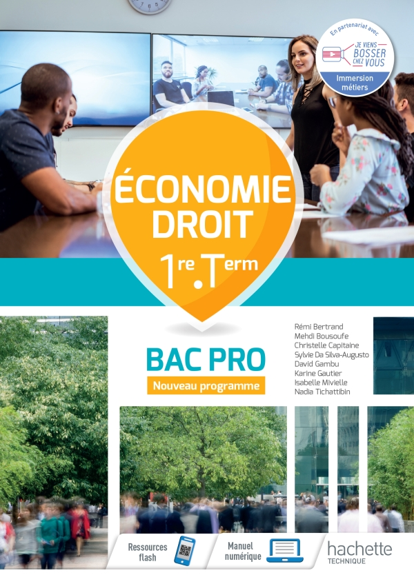 Économie-Droit 1re-Term Bac Pro - Cahier de l'élève - Éd.2020