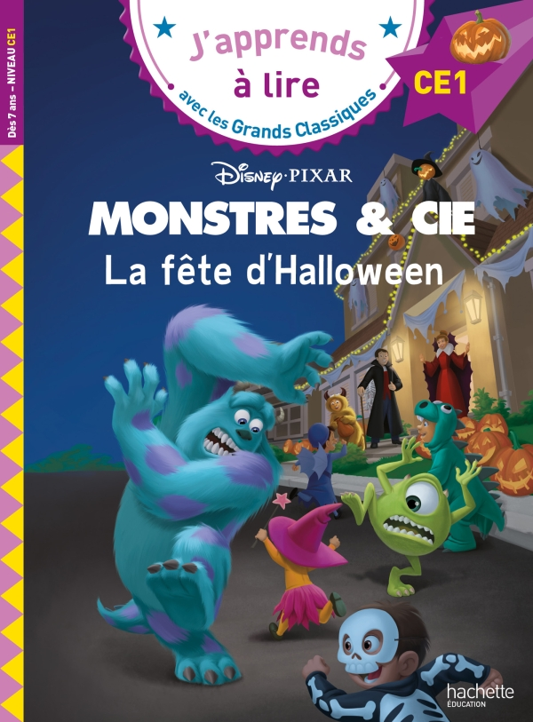 Disney -  Monstres et cie - La fête d'halloween,  CE1