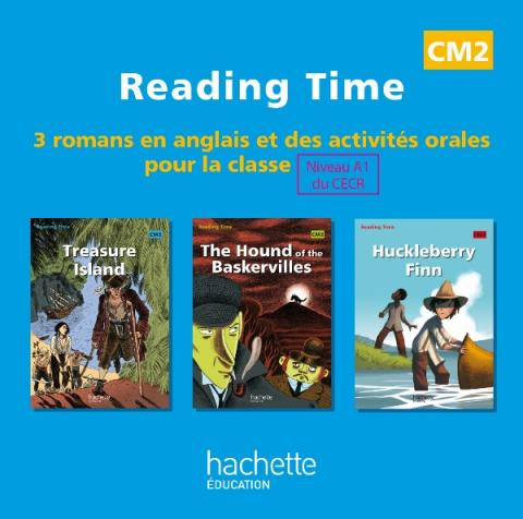 Reading Time CM2 - CD audio classe des 3 ouvrages - Ed.2011
