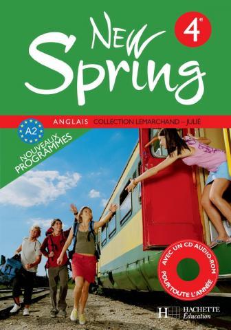New Spring 4e LV1 - Anglais - Livre de l'élève - Edition 2008