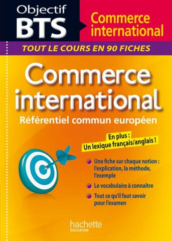 Fiches Objectif BTS Commerce international