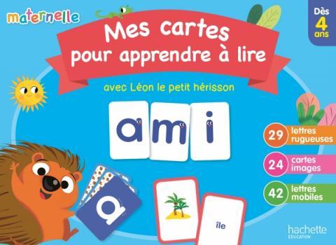 Mes cartes pour apprendre à lire avec Léon le hérisson