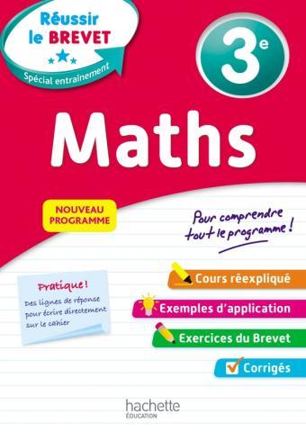 Réussir au collège - Maths 3e