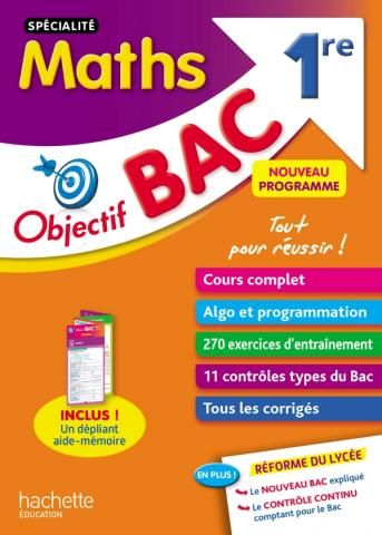Objectif Bac SPECIALITE Maths 1re