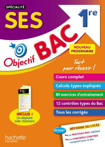 Objectif Bac - SPECIALITE SES 1ère