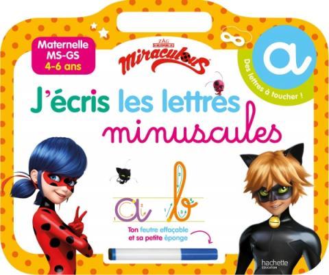 Miraculous - Ardoise J'écris les lettres minuscules