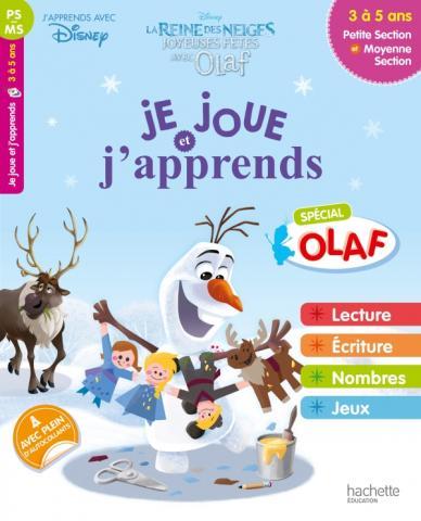 Disney - Reine des Neiges - Je joue et j'apprends avec Olaf - PS à MS 3-5 ans