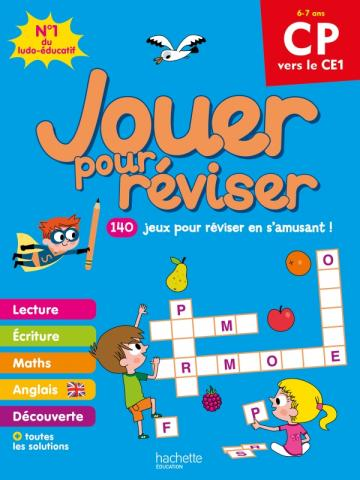 Jouer pour réviser - Du CP au CE1 - Cahier de vacances 2021