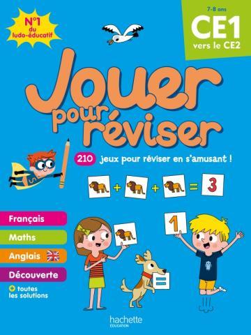 Jouer pour réviser - Du CE1 au CE2 - Cahier de vacances 2021