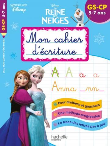 Disney - Reine des Neiges Mon cahier d'écriture GS