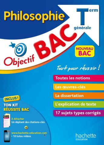 Objectif Bac - Philosophie - Terminale