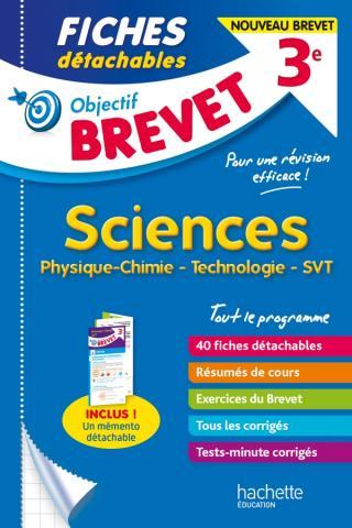Objectif Brevet - Fiches Sciences
