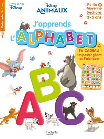 Disney - J'apprends l'alphabet avec les animaux Disney (dès 3 ans)
