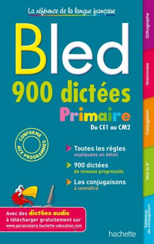 BLED 900 Dictées Primaire