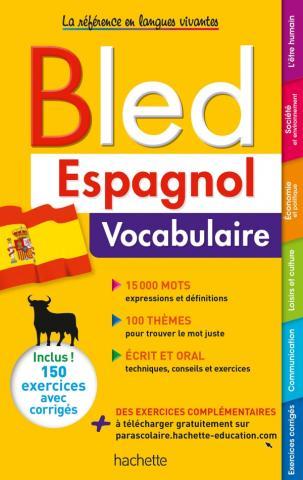 Bled Espagnol Vocabulaire