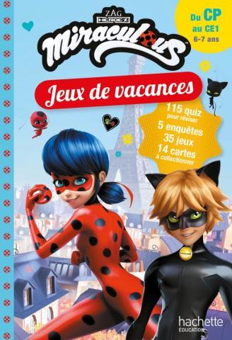 Miraculous - Jeux de vacances 2021 - Du CP au CE1