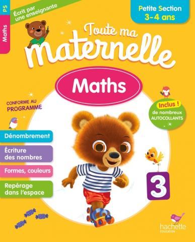 Toute Ma Maternelle - Maths Petite Section (3-4 ans)