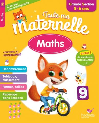 Toute Ma Maternelle - Maths Grande Section (5-6 ans)