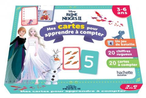 Disney - Reine des neiges 2 - Mes cartes pour apprendre à compter