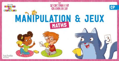 Ma pochette de maths CP - Les Pochettes Ateliers - Boîte de jeux manipulation - Ed. 2021
