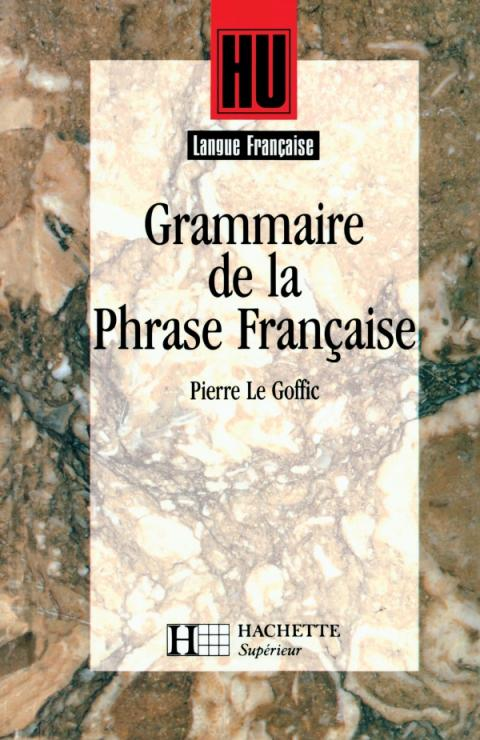 Grammaire de la phrase française