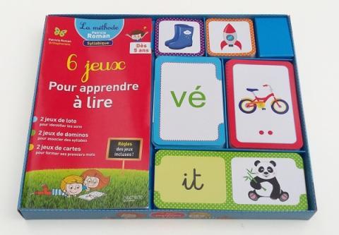 6 jeux pour apprendre à lire