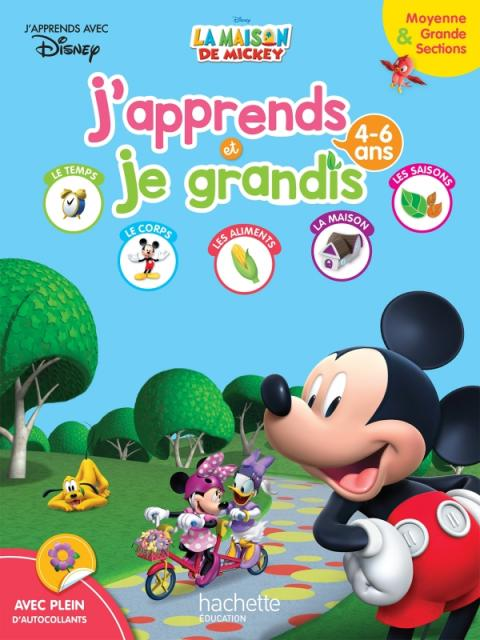 Mickey J'apprends et je grandis MS-GS