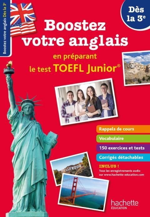 Boostez votre anglais en préparant le TOEFL Junior ! Dès la 3e