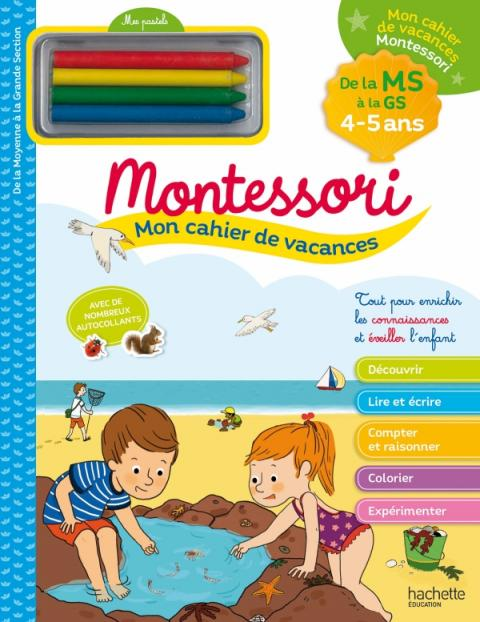 Mon cahier de vacances Montessori 2020 - 4/5 ans